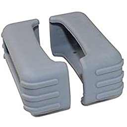 82 Series Rubber Boot Size 1 - Grey (Pair) - 1 Inch X 2.75 Inch X 1.25 Inch