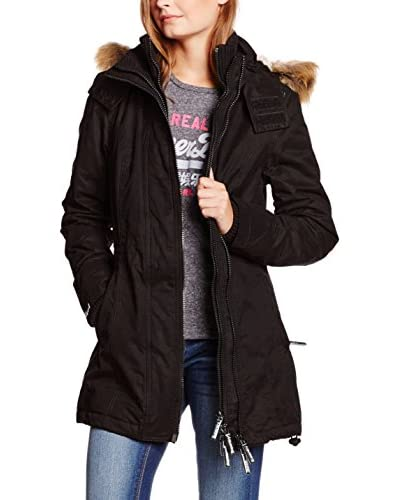 Superdry Giacca Lunga Microfibre Tall Windparka