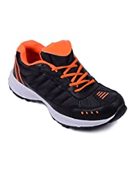 Red Rose Men's Eva Black Sports Shoes