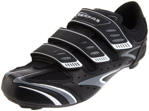 Serfas Men's Interval Cycling Shoe,Black,45 EU/11-11.5 E US