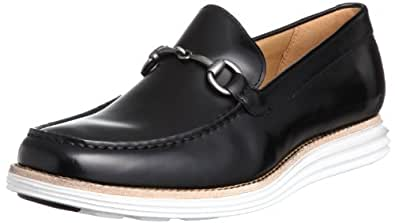Cole Haan Men's Lunargrand VNTN Bit Slip-On Loafer,Black,10 M US
