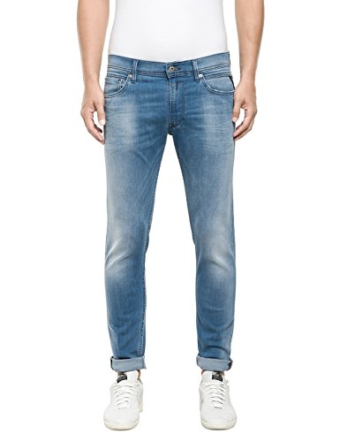 Replay Jondrill-Blu Uomo    Blu (Blue Denim 10) W34/L30