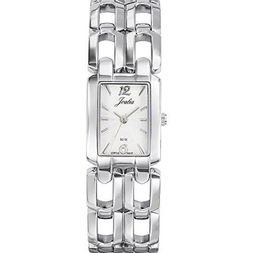 Joalia 633330 - Orologio da polso donna, metallo, colore: argento