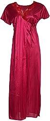 O Dear Women's Nightwear (Red, SF-119-NW)