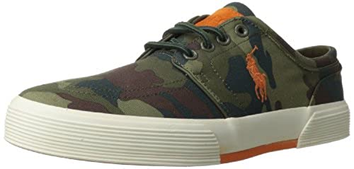 09. Polo Ralph Lauren Men's Faxon Low Sneaker