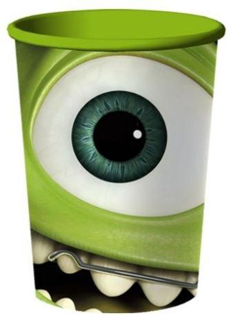 Monsters University 16oz Souvenir Cups ~ 2 Pack