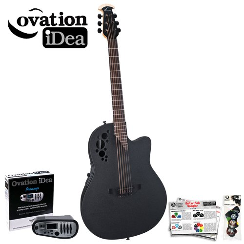 ovation idea celebrity elite 1778tx 5i acoustic electric guitar with opi 1 preamp mp3 recorder. Black Bedroom Furniture Sets. Home Design Ideas