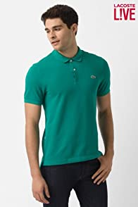 L!ve Short Sleeve Solid Pique Polo