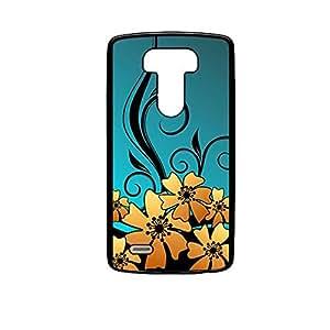 Vibhar printed case back cover for LG G4 GoldFloral