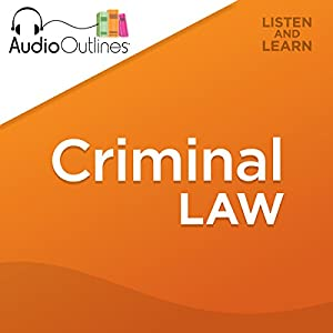 Criminal Law Hörbuch