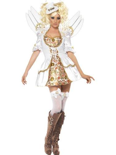 Smiffys Sexy Steampunk Victorian Clockwork Angel Halloween Costume Small