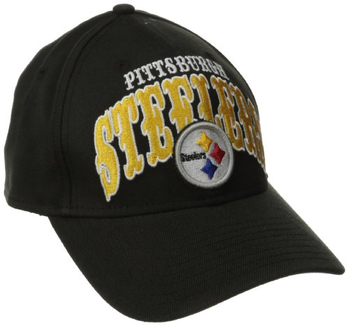 NFL Pittsburgh Steelers Curve Classic 39Thirty Flex Fit from SteelerMania
