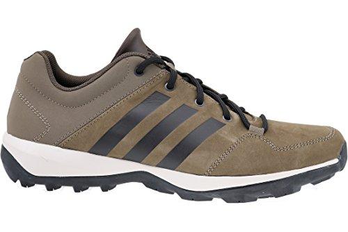 adidas DAROGA PLUS LEA - Scarpe da ginnastica exterior da Uomo, taglia 42,2/3, colore Grigio