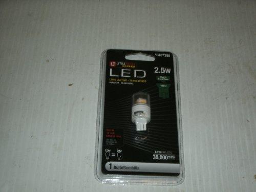Utilitech 2.5-Watt (20 W) T6 Warm White (2700K) Outdoor Led Bulb Item#487388 Model#13161 Upc# 875638005396