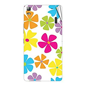 Garmor Designer Mobile Skin Sticker For Lenovo A668T - Mobile Sticker