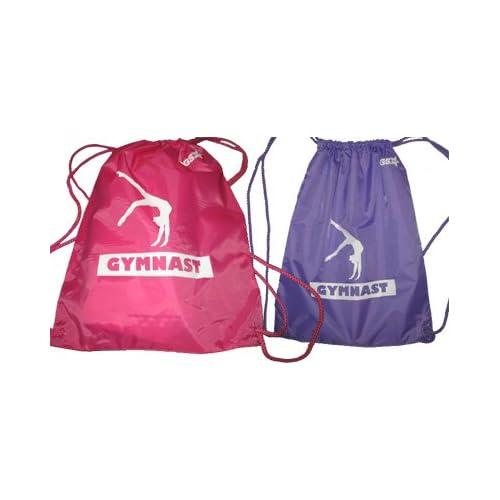 Amazon.com : Gymnastics Drawstring Bag (Blue (Mens)) : Gymnastics