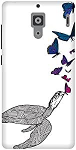 The Racoon Lean Butterfly Kisses hard plastic printed back case / cover for Xiaomi Redmi