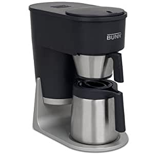 Bunn Coffee Maker Lights Flashing : Amazon.com: Velocity Brew STX 10-Cup Coffee Brewer, Black/Stainless Steel: Coffeemaker Carafe ...