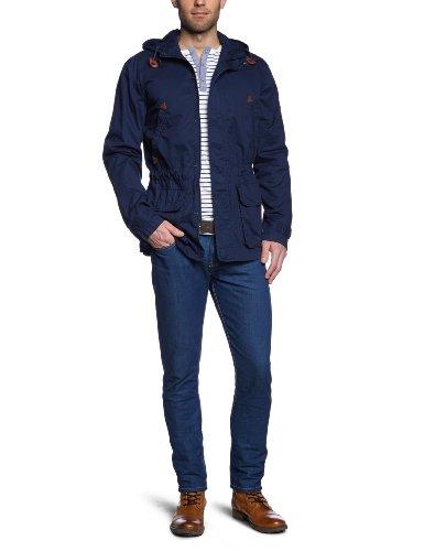 Wrangler Long Parka Total Eclipse Men's Jacket Dark Blue X-Large