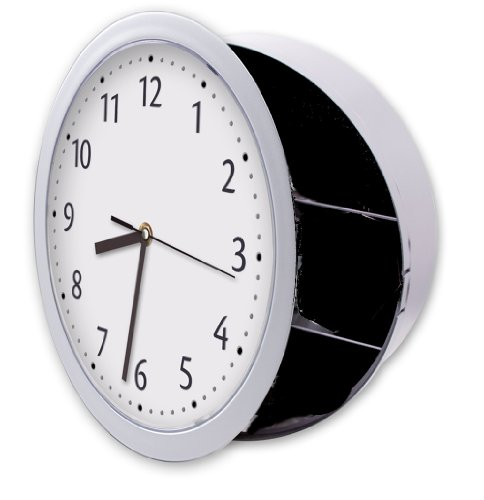 Hidden Wall Clock Safe, Wall Clock Safe, In-Wall Safe, Wall Clock With Hidden Safe Keeps Valuables Safe And Secure. Perfect Life Ideas - Tm.