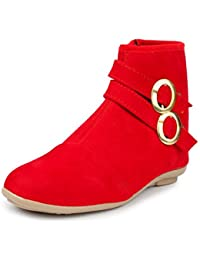 Do Bhai Boot-Double-Buckle Fashionable & Stylish Smart Casual Boots For Women
