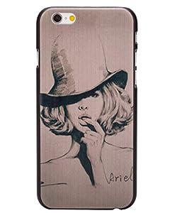 Unendlich U Schmuck Vintage schön Damen Painting matt Handy Schutzhülle für iPhone 6 4,7 Zoll
