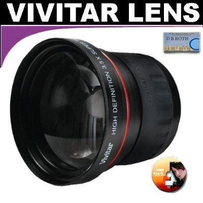 Vivitar Series 1 High Definition 3.5X Telephoto Lens For The Sony Hdr-Cx110, Cx150, Cx300, Cx350V, Xr150, Xr350V Hd Handycam Camcorder