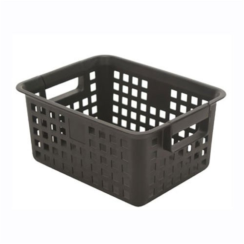 plastic mesh baskets with handles extra large black. Black Bedroom Furniture Sets. Home Design Ideas