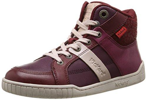 Kickers  Wincut,  Sneaker ragazza Rosso Rouge (Rouge/Bordeaux) 31