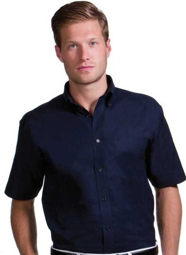 Mens Short Sleeve Premium Formal Oxford Shirts Sizes 14.5 to 19.5 / S to 3XL (XL - 17.5