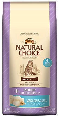 Nutro Indoor Senior Cat White Fish & Whole Brown Rice Recipe