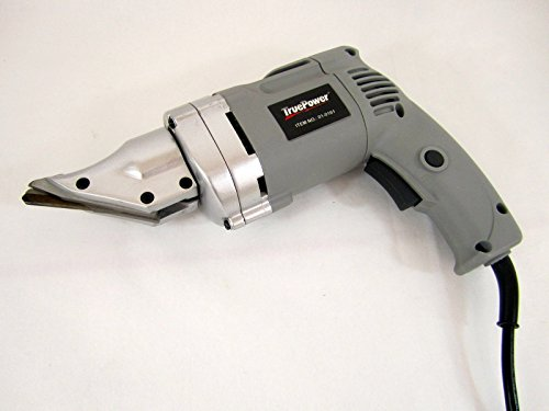 Best Deals! Heavy-Duty Electric Metal Shear - Swivel Head - Cuts 14 Ga Steel - UL-Listed