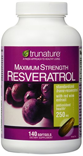 trunature Maximum Strength Resveratrol 250