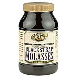 Golden Barrel Blackstrap Molasses, Unsulphured - 32 oz