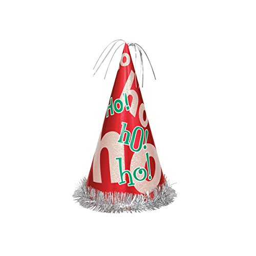 "13"" Jumbo Ho Ho Ho Christmas Party Hat"