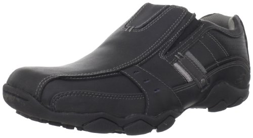 Skechers Men's Diameter-Garzo Loafer,Black,10 M US