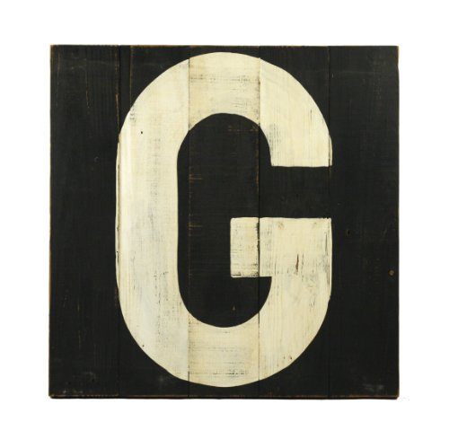 ZENTIQUE Wooden Letter, Monogrammed G