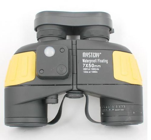 Mystery 7X50 Binocular With Compass Magnification: 7X