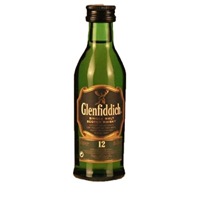Glenfiddich 12 year old Single Malt Whisky 5cl Miniature by Glenfiddich