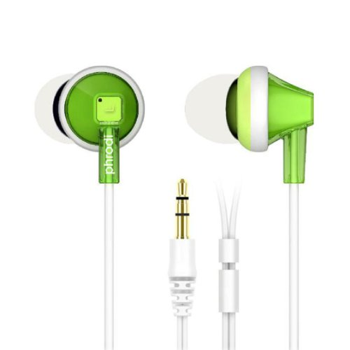 Doinshop New Fashion Multi-Colored 3.5Mm In-Ear Earphones Headphone For Smartphone Mp3 (Green)