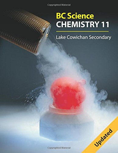 Bc Science Chemistry 11: Lake Cowichan Secondary