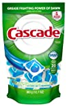 Cascade Dishwasher Detergent, Fresh Scent, 20 ct.
