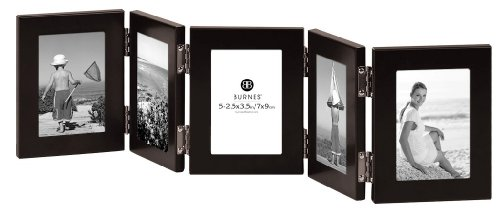 burnes of boston c53923 5 hinged picture frame 2 12 inch