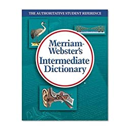 Merriam Webster - 2 Pack - Intermediate Dictionary Grades 6-8 Hardcover 1024 Pages \