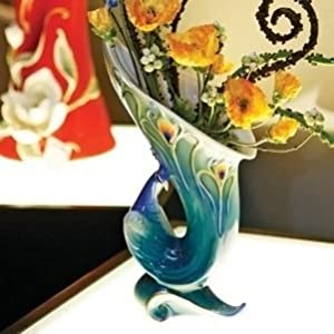 Compare peacock vase in Home Store at SHOP.COM