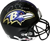 Joe Flacco Autographed/Hand Signed Baltimore Ravens Full Size Proline Helmet SB 47 MVP at Amazon.com