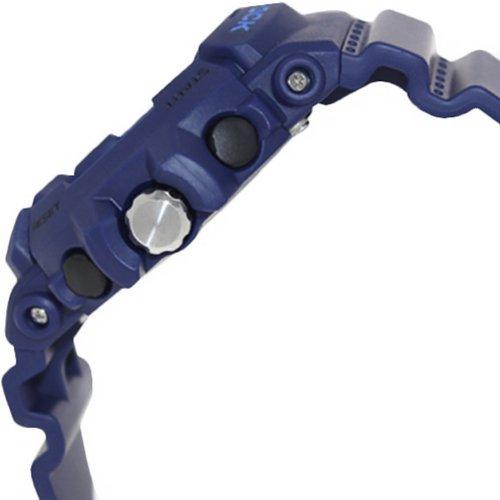 Casio Men's GAC-100-2ACR G-Shock Navy Metallic Chronograph Watch