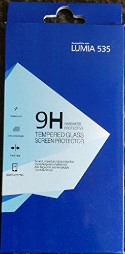 New 100% Original 9H Tempered Glass / Screen Guard / Scratch Protector for Nokia / Microsoft Lumia 535