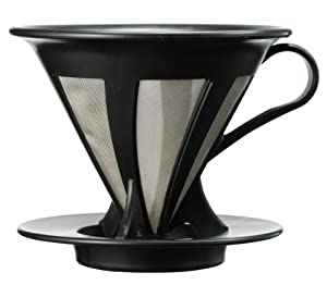 ハリオ カフェオールドリッパー02 ブラック 1~4杯用