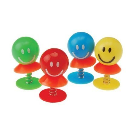 US Toy Company 4276 Smiley Face Pop-Ups 12/Pk